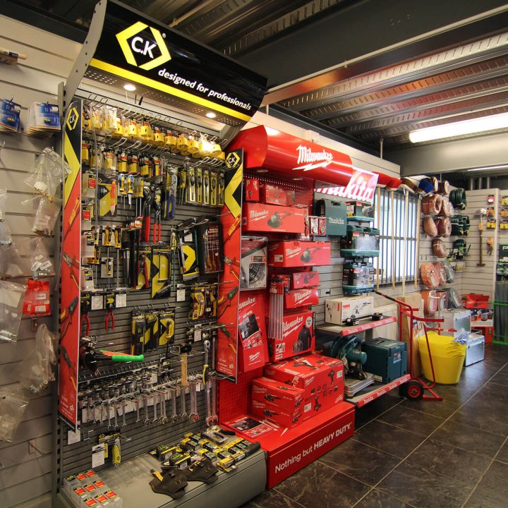 TFS Hire Trade Counter